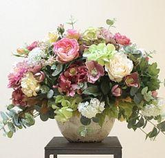 Красивые букеты и композиции из живых цветов (Фото) 66